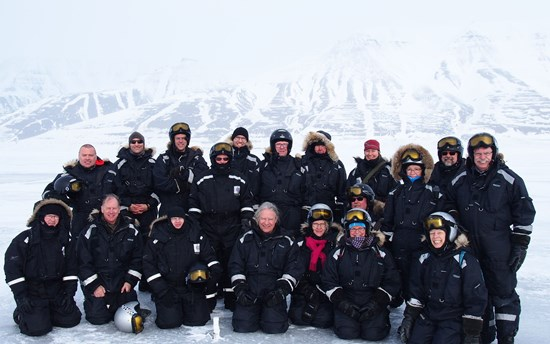 UArctic Board and Ma-Mawi members in Svalbard April 2015