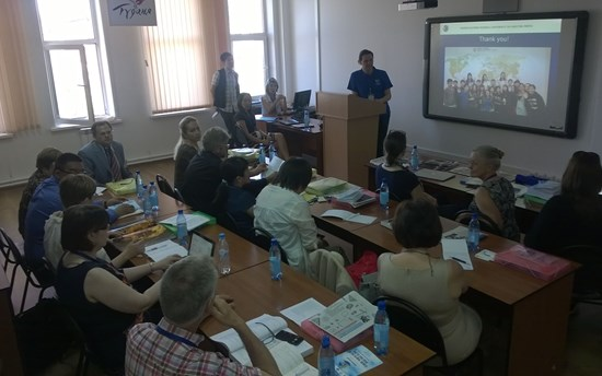 Roundtable discussion Ulan Ude 2015