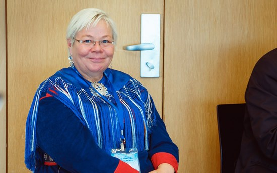 Liisa Holmberg at the UArctic Congress 2016 in St Petersburg